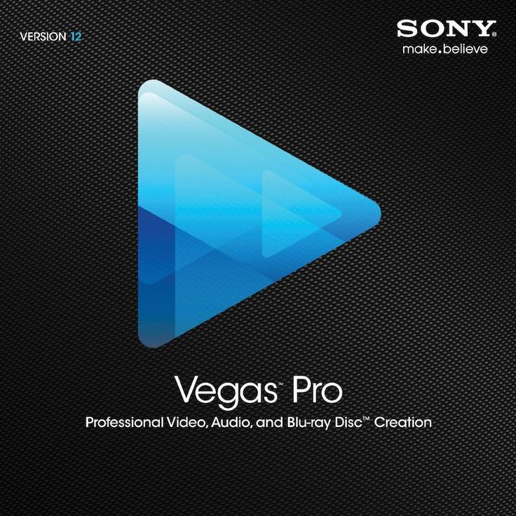 Sony Vegas Pro 12 Video Editing Software for $199