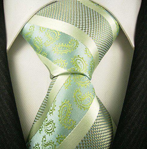 Neckties By Scott Allan - Sage Green Paisley Tie Scott Allan Collection http://www.amazon.com/dp/B001NR8P60/ref=cm_sw_r_pi_dp_jiRivb1Z01ZBR
