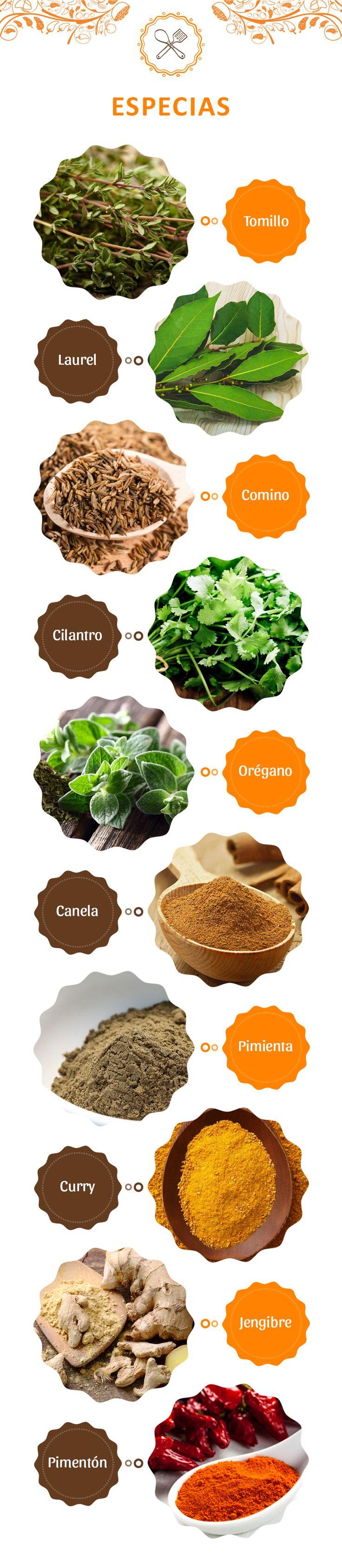 #TipLa Morena ¿No sabes cómo darle aroma a tu comida? Opta por especias. Te compartimos las más útiles.