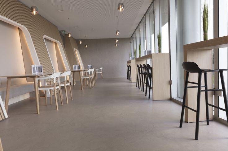 Eurocol BetonDesign | Home | Belgium Zaventem | Concrete Design | Concrete  Interior | Amaris |