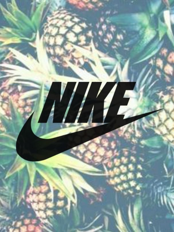 Faded pineapple Nike wallpaper - -Designed by me