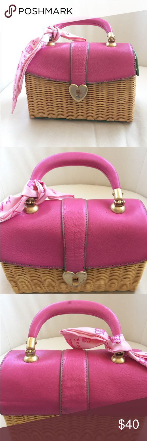 Spotted while shopping on Poshmark: Juicy Couture wicker bag! #poshmark #fashion #shopping #style #Juicy Couture #Handbags