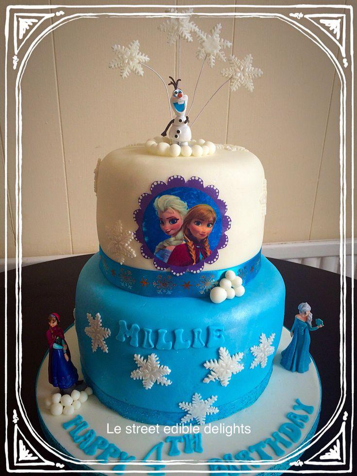 Frozen cake 2 tired