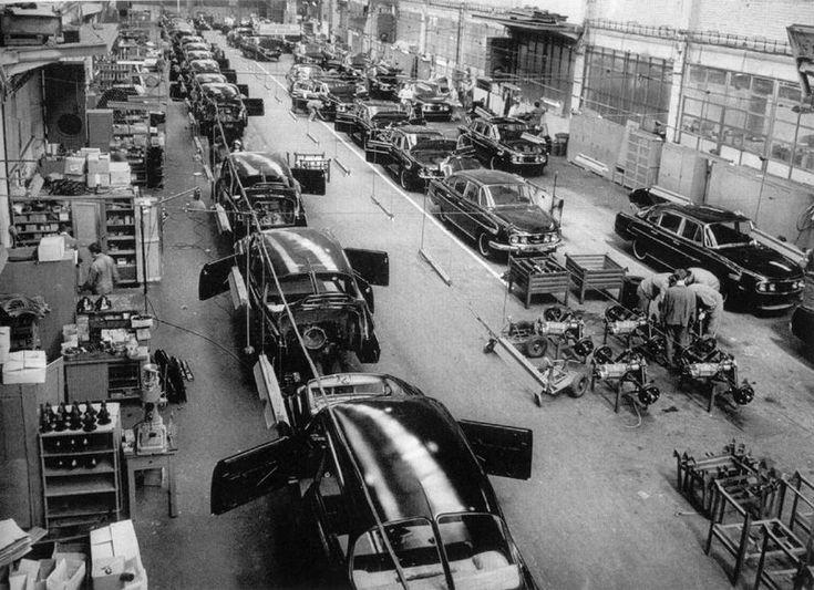 Tatra Kopřivnice- výroba modelu T603