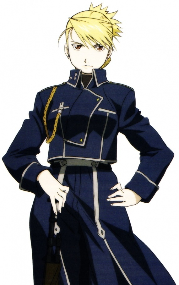 Full Metal Alchemist: Riza Hawkeye is a very very very awesome and amazing character who I love so!