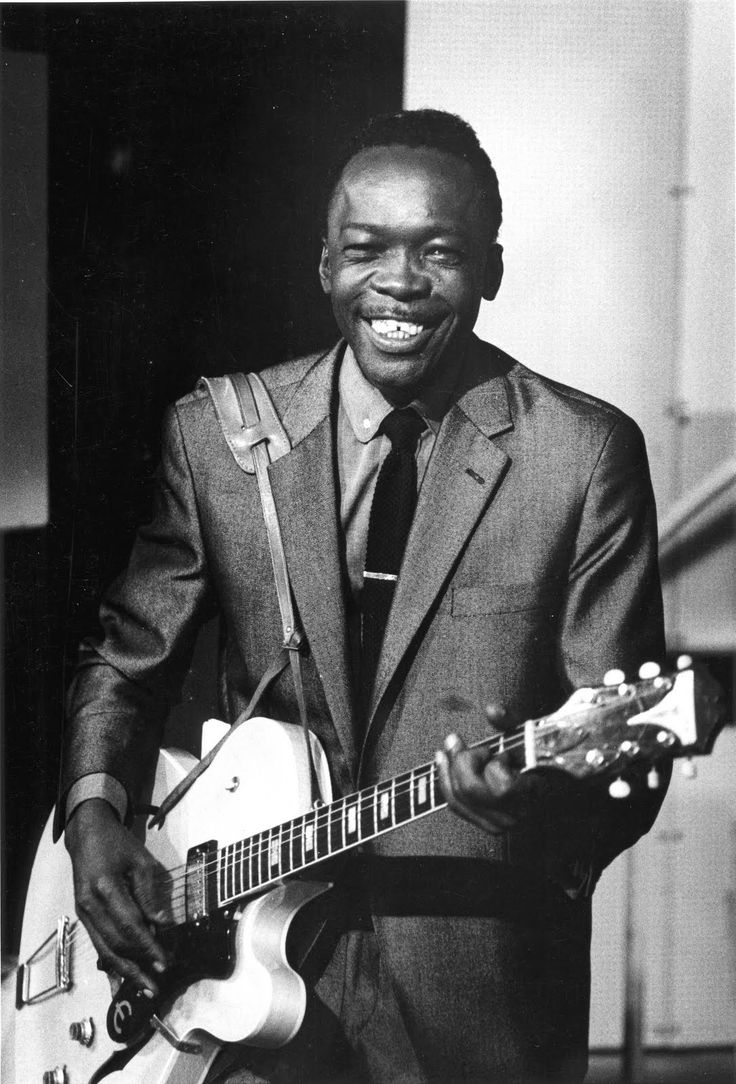 John Lee Hooker, King of the Boogie Chillun.