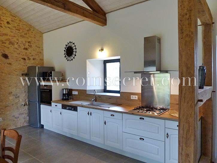 Location de vacances d'une maison de charme avec piscine en campagne près de Monpazier, Dordogne