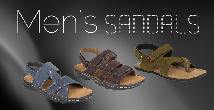 Sandals are stylish, comfortable and allow free passage of air around your feet. Anyone can wear them all day without feel sweaty. Therefore, whether you're going to spend your day at the beach, going on a shopping trip friends on the streets or going on on a hiking trip, sandals are simply perfect.