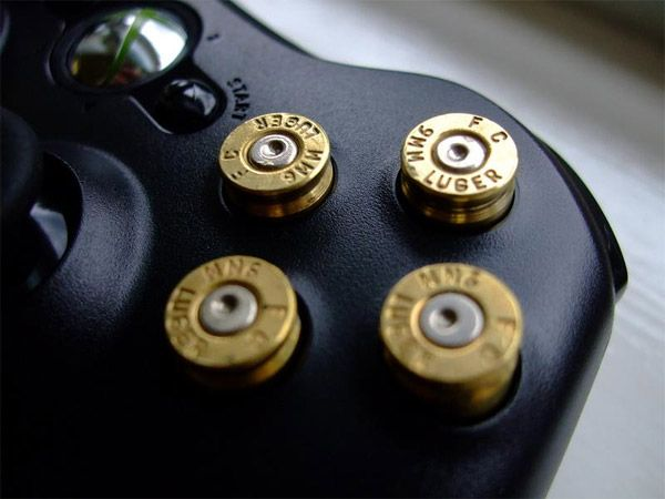 xbox 360 9mm bullet button controller