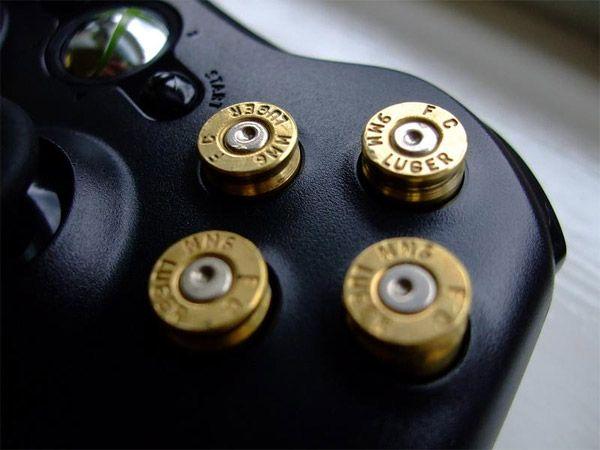 Xbox 360 9mm bullet button controller