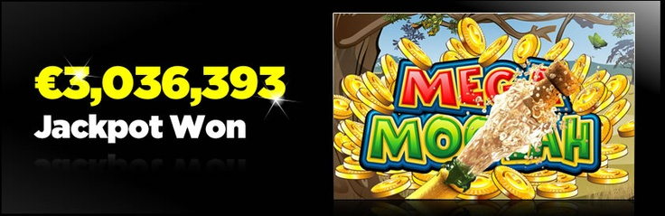 A lucky player won a life-changing €3,036,392 when he triggered the Mega Moolah progressive jackpot – find out about other jackpot slots that could make you an instant millionaire: http://www.casinomanual.co.uk/e3-million-mega-moolah-jackpot-won/