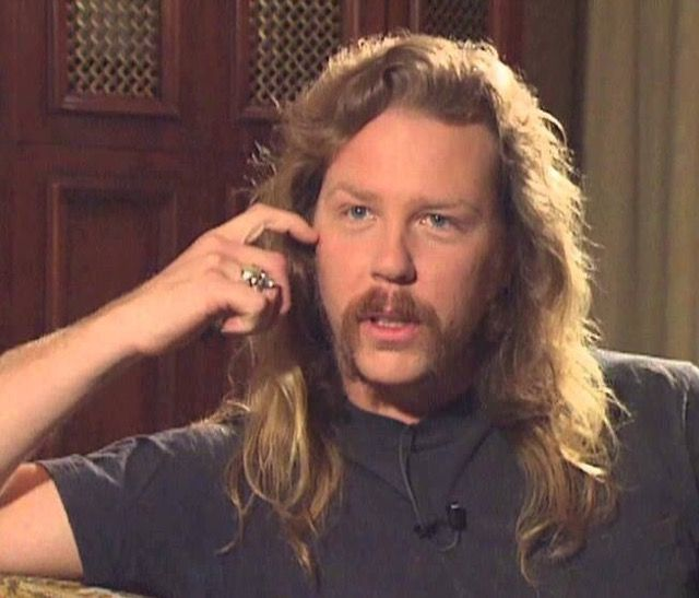 Pin by Kelly on Bands n Artists | James hetfield young ...