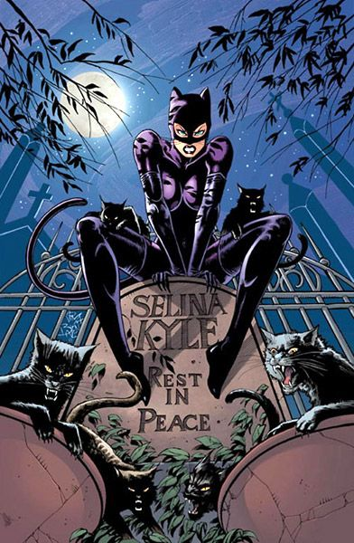 Catwoman by longtime Catwoman artist Jim Balent