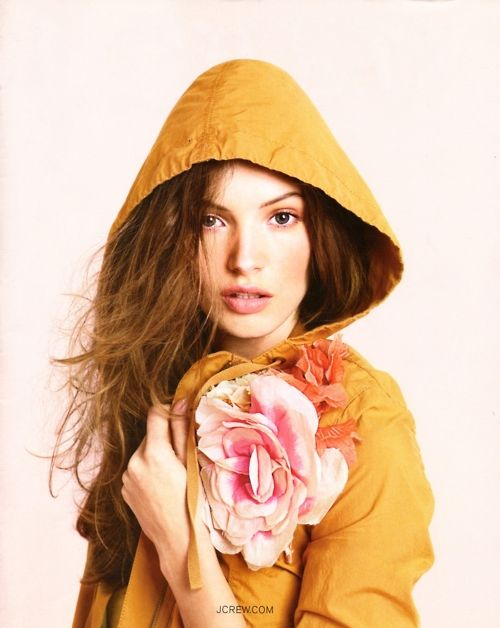 : Pink Flower, June 2009, Fashion, Flower Pin, Style, Color, J Crew, Jcrew