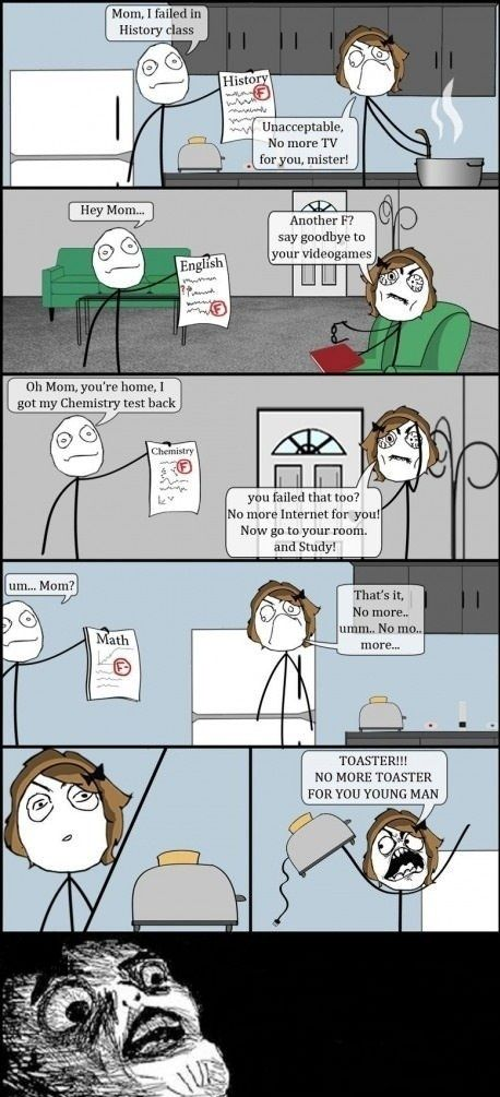 So That's How Cereal Guy Born.... - Posted in Funny, Troll comics and LOL Images - Mix Pics