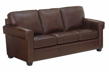 "Preston ""Designer Style"" Funky Urban Loft Contemporary Leather Sofa"