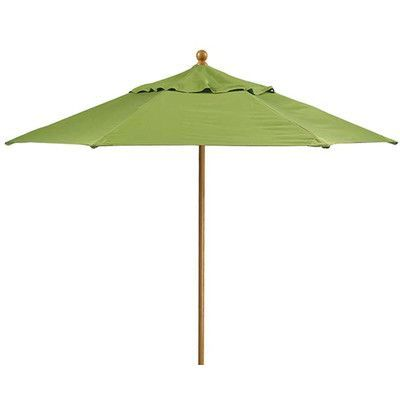 Tropitone Portofino 9' Market Umbrella Fabric: Vista, Frame Finish: Greco, Opening Mechanism: Pulley