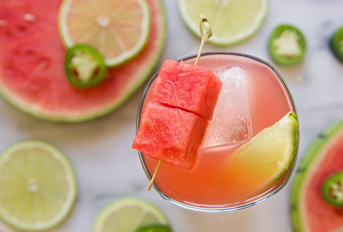 Watermelon tequila cocktail recipe, Rent Check from Nordstrom bars. Photo by Jeff Powell.