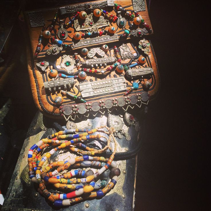 Beautiful beads and bags