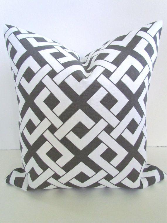 sale decorative throw pillows 20x20 gray brown throw pillow 20 x 20 grey indoor outdoor pillow