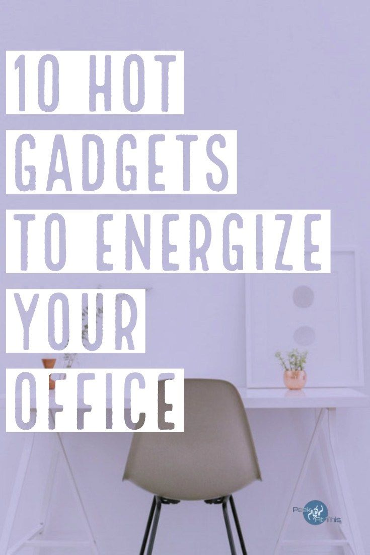 10 Hot Gadgets To Energize Your Office Office Gadgets Gadgets