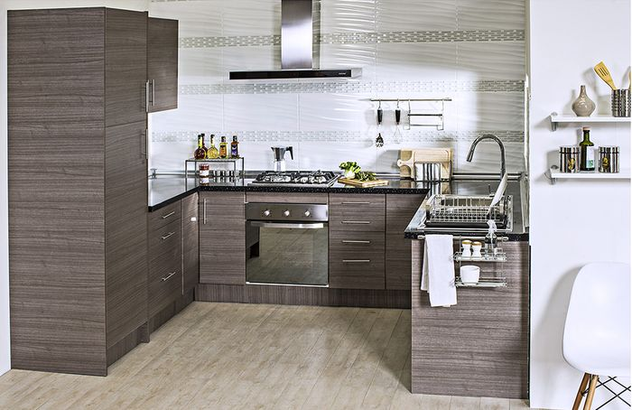 Home collection mueble base 2 puertas 100 x 60 cm teka for Muebles de cocina 60 cm