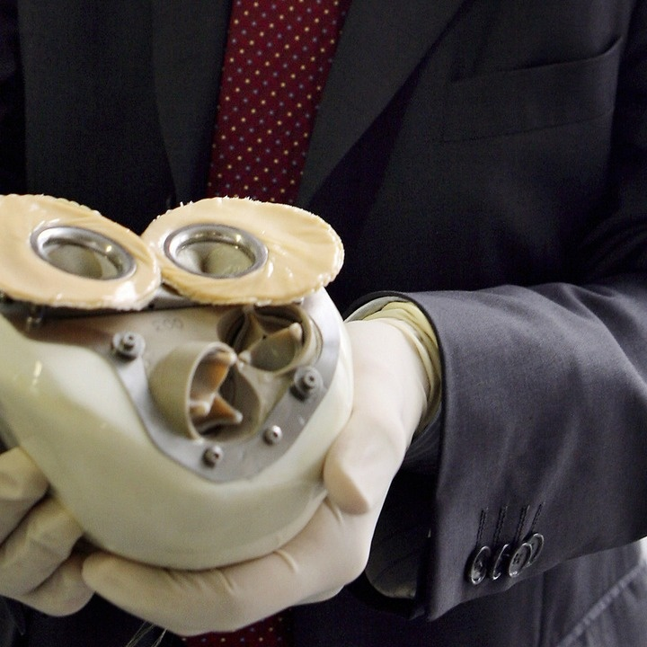 A French company is preparing to test a complex artificial heart that combines biology with machinery.