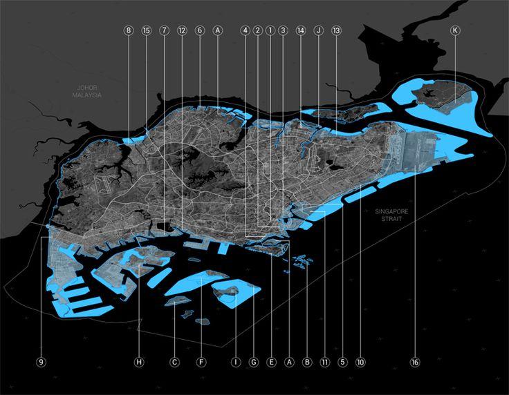 Singapore Land Growth Urban Design Master Planning