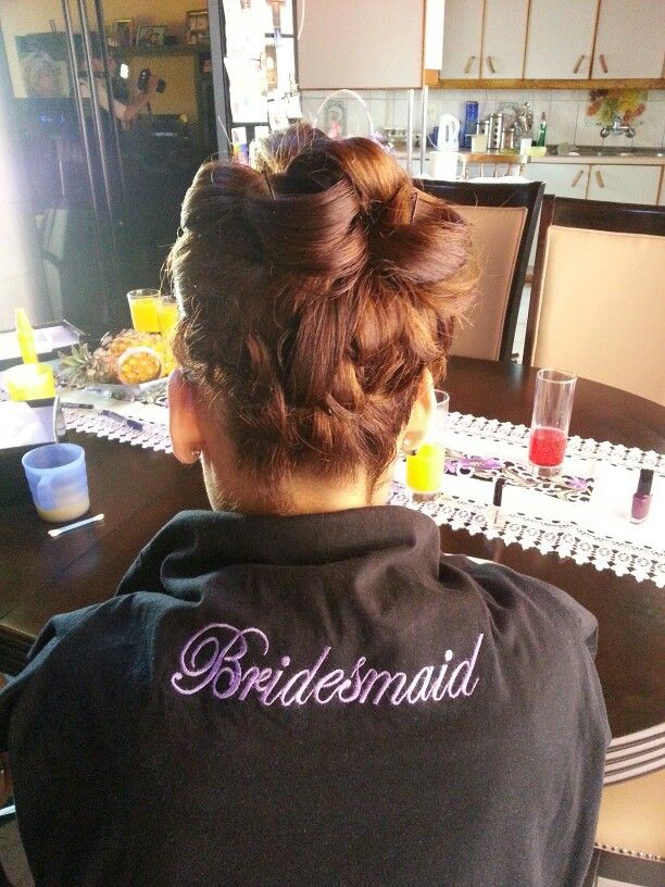 #Bridesmaid Hairstyle
