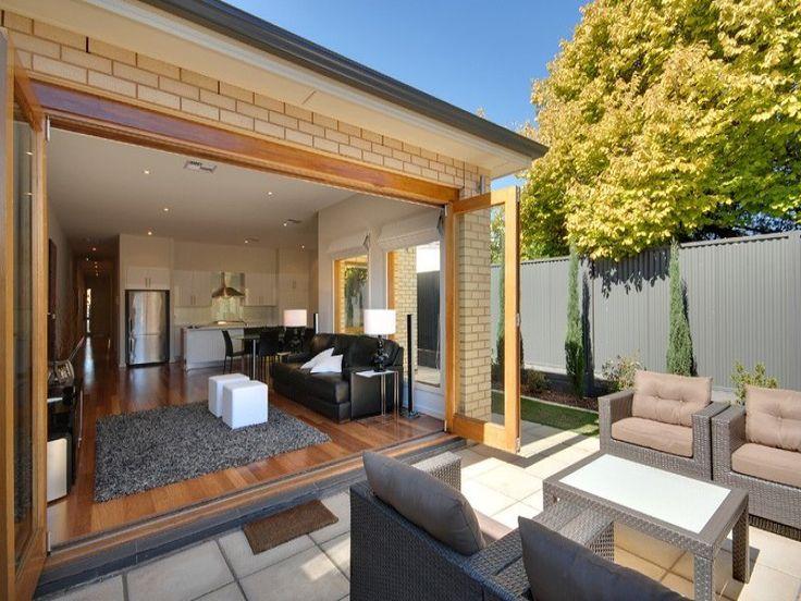 Indoor outdoor living | Outdoor Spaces | Pinterest on Indoor Outdoor Living Room id=13260