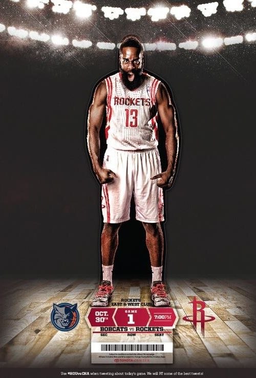 Check out the Opening Night Tickets For the Houston Rockets