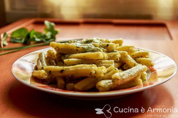 #Casarecce in #salsa #aromatica http://www.cucinaearmonia.com/2014/04/casarecce-in-salsa-aromatica.html #food #foodblogger #cucinaearmonia