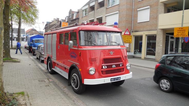 Onze DAF brandweerwagen