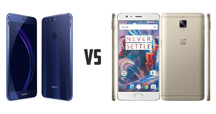 In the battle of flagship killers, let's compare the hardware of Huawei Honor 8 and OnePlus 3 to see how they fare, at least on paper.