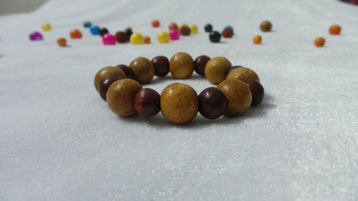 Wooden Bead Bracelet Project