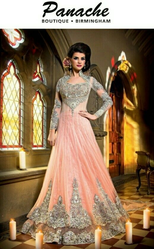 Light pink dress Asiana collection