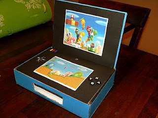 Nintendo DS Valentine Box. My son loved this so much I just wanted to share it with you.