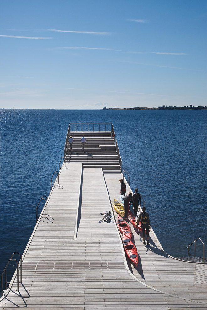 archatlas: Faaborg Harbour Bath and Blue...   MdA · MADERA DE ARQUITECTO
