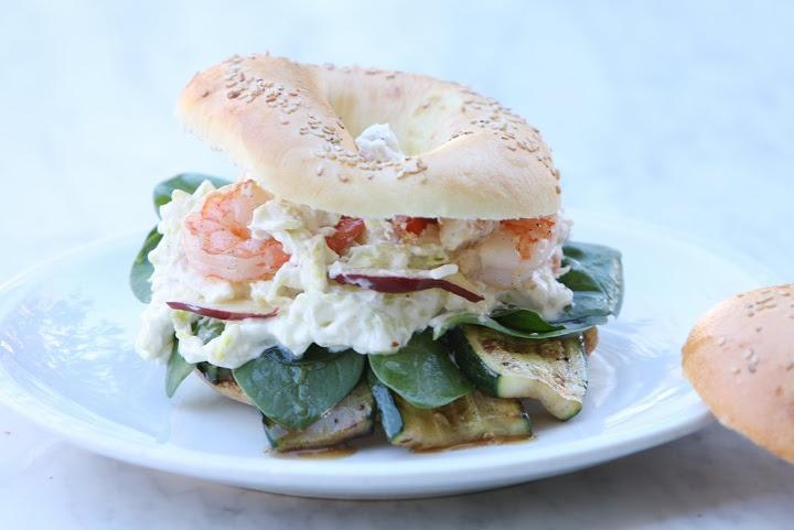Bagel Shrimp Salad