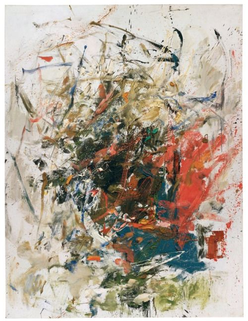 """Joan Mitchell: """"La Chatiere,"""" 1960; Oil on canvas"""