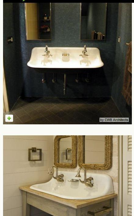17 Best Images About Bathroom Sink On Pinterest Vintage Style Trough Sink And Pedestal Sink