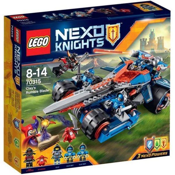 Lego Nexo Knights - Pojazd Claya 70315 - Photo