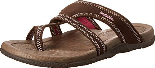 Northside Womens Madison SandalChocolate6 M US *** Click on the image for additional details.