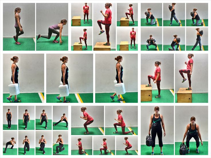 Try these 10 Functional Training Leg Exercises to help you move better in every day life!