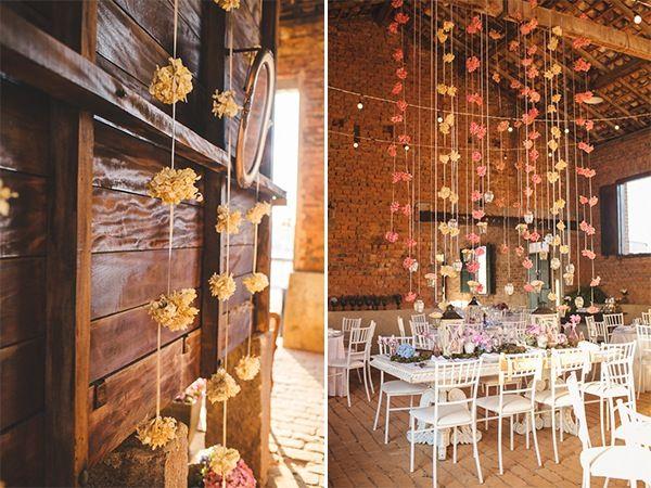 Decoração Romântica e Rústica | Vestida de Noiva | Fernanda Floret | Blog de casamentos cheios de amor de todo o Brasil