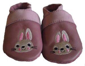 Nyuszis lila Szofi puhatalpú cipő