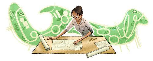 107º Aniversário de Lotta de Macedo Soares. Arquiteta paisagista e urbanista autodidata uma das responsáveis pelo projeto do Parque do Flamengo.
