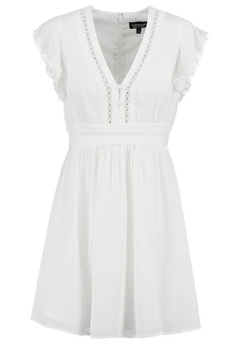 Robes légères Topshop Robe d'été - cream blanc cassé: 44,00 € chez Zalando (au 30/01/17). Livraison et retours gratuits et service client gratuit au 0800 915 207.
