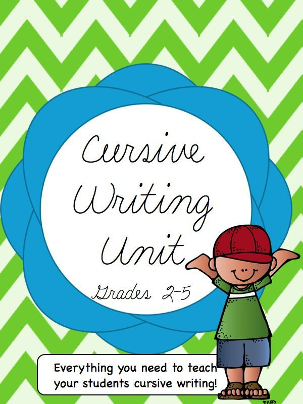 Cursive Writing Unit