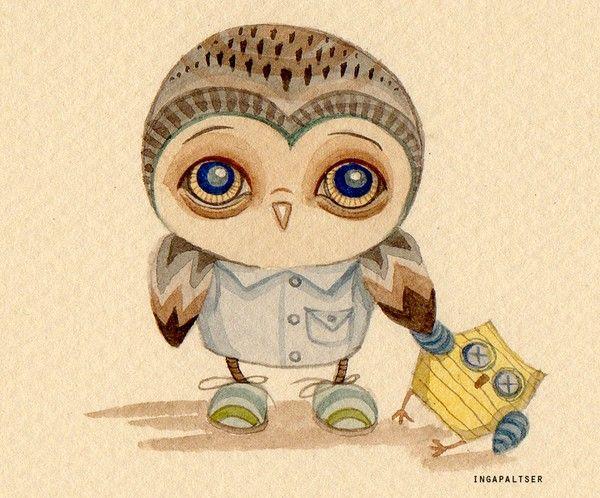 owl - Inga Paltser -